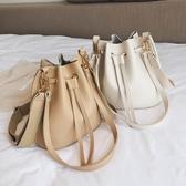 夏季上新大容量包包女2019新款潮韓版百搭單肩斜挎時尚手提水桶包
