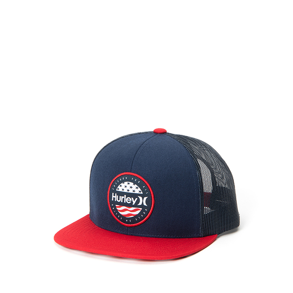 Hurley M UNITED WE STAND HAT OBSIDIAN 棒球帽 (藍)