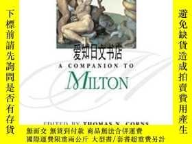 二手書博民逛書店【罕見】A Companion To MiltonY175576 Thomas N. Corns Wiley-