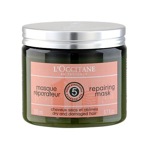 L Occitane 歐舒丹 深層修護亮澤髮膜6.7oz,200ml ~