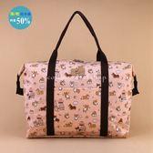 旅行袋 包包 防水包 雨朵小舖 5U162-022 輕量旅行袋-橘吐司柯基05051 uma hana