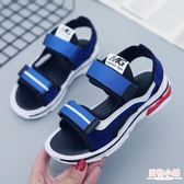 兒童運動涼鞋男童女童涼鞋2019新款中大童沙灘鞋韓版夏季時尚防滑