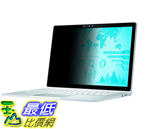 [106美國直購] 保護膜 3M Privacy Screen Protectors Filter for Microsoft Surface Book Landscape (PFNMS001)