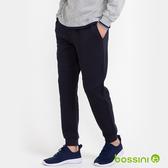【歲末出清】針織束口長褲01海軍藍-bossini男裝