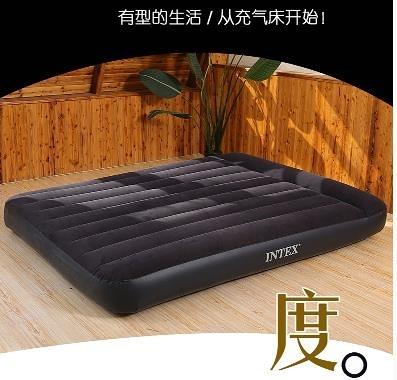 充氣床 INTEX氣墊床 充氣床墊雙人家用加大單人折疊床墊充氣 芊墨 新品