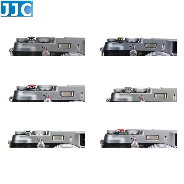 又敗家@JJC大快門鈕(凸起.直徑11mm)SRB-B10系列適類單眼相機快門按鈕撞針式機械快門線孔FUJIFILM
