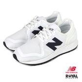 New balance 247S 白色 織布 休閒運動鞋 男女款 NO.B1495【新竹皇家 MS247SB3D】