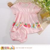 女寶寶夏季短袖連身裙及內褲組 魔法Baby