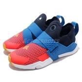 Nike 休閒鞋 Huarache Extreme Now PS 藍 紅 綁帶設計 低筒 童鞋 中童鞋 武士鞋【PUMP306】 BQ7569-400
