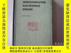 二手書博民逛書店semiconductor罕見electronics desig