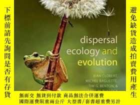 二手書博民逛書店Dispersal罕見Ecology And Evolution