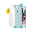 iPhone SE2/8/7手機殼泡泡保護套-黃色小鴨子.SE2/i8/i7防摔保護矽膠軟殼手機套