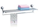 【麗室衛浴】鋅合金系列 置物毛巾架 LS-2712 62*21.5*7.5CM