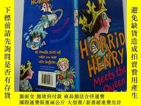二手書博民逛書店Horrid罕見Henry Meets the Queen:可怕的亨利會見了女王Y200392