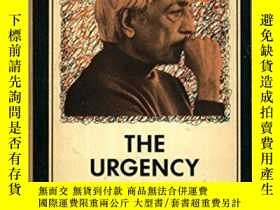 二手書博民逛書店The罕見Urgency Of ChangeY255562 J. Krishnamurti Harper &a