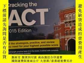 二手書博民逛書店Cracking罕見the ACT with 6 Practic