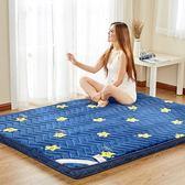 加厚床褥床墊1.5m床1.8m床海綿床墊單人1.2米學生宿舍床墊地鋪墊 晴川生活館 NMS