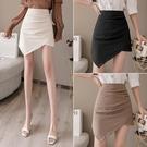 不規則包臀裙短裙女夏性感半身裙a字裙子2020新款緊身一步裙褲裙 黛尼時尚精品