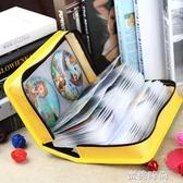 CD盒大容量滌綸布CD包音樂光盤收納包128片裝汽車碟片整理包防潮『蜜桃時尚』