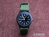 小男孩防水帆布手錶韓國版石英中錶小學生數字腕錶男童潮腕錶『小宅妮時尚』