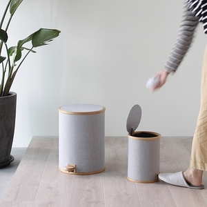 Gudee - POMP 腳踏式垃圾桶 (布面M)