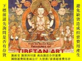 二手書博民逛書店紐瓦克博物館罕見藏西藏藝術珍品(From the Sacred
