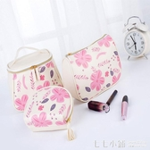 韓國簡約化妝包小號隨身便攜大容量多功能可愛少女心手提包女