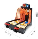 桌面籃球遊戲架桌上手指彈射投籃機兒童益智親子互動玩具 【雙11特惠】