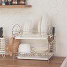 不鏽鋼 廚房收納 碗盤瀝水架【D0045】不鏽鋼組合式多功能碗盤架 MIT台灣製 完美主義