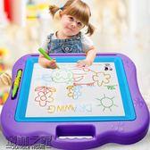 店長推薦▶兒童畫畫板磁性寫字板寶寶嬰兒小玩具1-3歲2幼兒彩色超大號涂鴉板