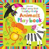 Baby's Very First Touchy-Feely Animals Play Book 寶貝的第一本翻翻觸摸操作書:動物篇