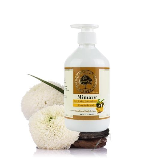 【 Valvola法莫拉 】法國Mimare-蜂蜜蘆薈潤膚乳500ml