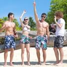 沙灘褲男士寬鬆速幹平角泳褲 海邊度假短褲 【店長推薦】  快速出貨