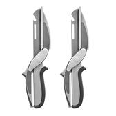 (組)多功能廚房剪刀x2