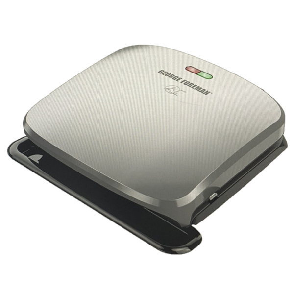 [9美國直購] George Foreman 帕尼尼機 燒烤機 GRP3060P 白金版 4-Serving Removable Plate Grill and Panini Press Platinum