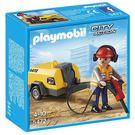 playmobil 建築工程系列 建築工人用千斤頂錘_PM05472