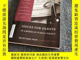 二手書博民逛書店Issues罕見for Debate in American P