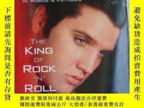二手書博民逛書店ELVIS罕見(The king of Rock On Roll