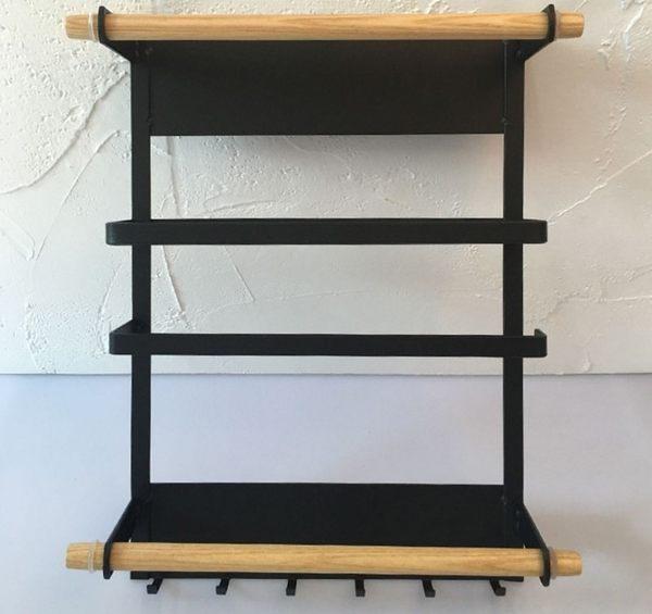 【SG226】日式廚房冰箱磁吸收納架 日式冰箱架側掛磁鐵架子廚房冰箱收納側壁置物架紙巾架