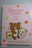 拉拉熊 Rilakkuma 25開線圈筆記本 粉色 RK06047b