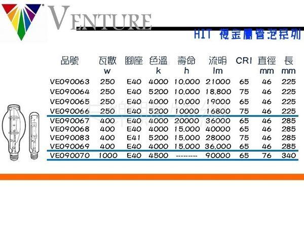 VENTURE 73590 HIT 400W/U/EURO/5K _ VE090083