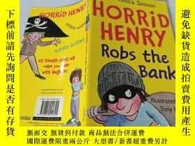 二手書博民逛書店Horrid罕見Henry Robs the Bank:可怕的亨利搶劫銀行..Y200392