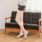 18D天鵝絨鋼絲面膜微壓收腹提臀美腿絲襪(自然膚)
