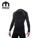 mico 男Primaloft無縫圓領保暖衣1470/ 城市綠洲 (運動機能、登山、跑步、旅行、滑雪)