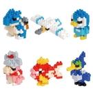 《Nano Block迷你積木》【 神奇寶貝 系列 】NBMC_16S MINI系列 精靈寶可夢(一盒6入) / JOYBUS玩具百貨