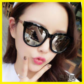館長推薦☛2018新款韓國太陽鏡女偏光圓臉墨鏡