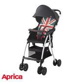愛普力卡Aprica Magical air Plus s 高視野 Plus超輕量單向嬰幼兒手推車-英倫風