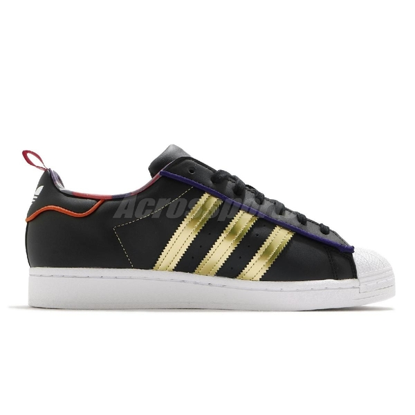 adidas 休閒鞋 Superstar CNY 黑 金 紅 中國新年 貝殼頭 男鞋 女鞋 【ACS】 S24184