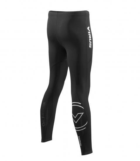 【鼎立資訊】男子咖啡紗保暖緊身V3機能褲保暖面料適用於寒冷氣候 SiO16