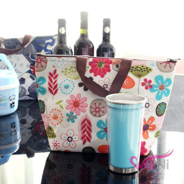wei-ni 牛津布鋁箔保冷袋 保溫袋 手提飯盒袋 母乳袋 儲乳袋 保冷運送袋 便當袋 保鮮袋